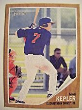 MAX KEPLER RC TWINS 2011 Topps Heritage Minors baseball card #144 BERLIN GERMANY