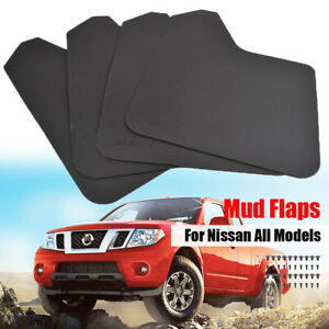 XUKEY Front Rear Mud Flaps Mudflaps Mudguards Splash Guards For Nissan Car All
