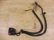 1981 Honda CB900C CB900 Custom H435-3' left hand controls switches wires parts