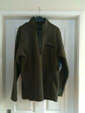 Columbia Men's Rugged Ridge Half Snap Pullover Sweatshirt Green Size S BNWT