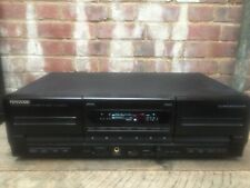 Vintage Kenwood KX-W4070 Stereo Double Cassette Tape Deck CCRS HX Pro Working