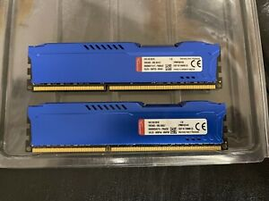 HyperX FURY 2x8GB 240-Pin DDR3 SDRAM DDR3 1600 (PC3 12800) Desktop Memory (16GB)