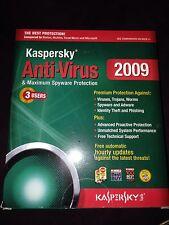 Kaspersky Lab Anti-Virus 2009 3 Users PC