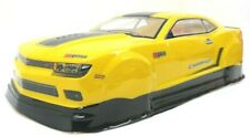 Camaro Pre-Painted Rc Body 1/10Th Scale Yellow Z28 Zl1 Hpi Traxxas Kyohso 190Mm