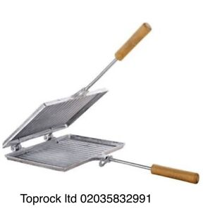 Sandwich Toaster Toastie Maker Grill Breakfast Camping Stove