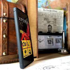 Xperia XZ Premium Custodia resistente agli urti Flex Micro Carbon Ballistic Design Blu