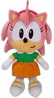 """Sonic the Hedgehog ~ 7"""" AMY PLUSH FIGURE ~ Official JAKKS Pacific Plushie"""