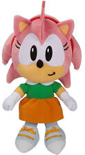 "Sonic the Hedgehog ~ 7"" AMY PLUSH FIGURE ~ Official JAKKS Pacific Plushie"