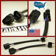 2pc H4 9003 To H13 9008 Pigtail Wire Wiring Harness Adapters conversion wire HID