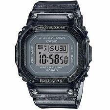 Casio G-SHOCK Baby-G BGD-560S-8 цифровой серый каучуковые часы