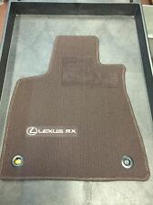 LEXUS RX350/RX450H 2016-2017 4 PCS BROWN FLOOR MATS PT206-48161-00