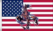 US End of the Trail - Wisconsin United States of America USA 5'x3' Flag