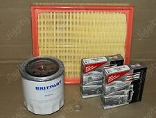Air Oil Filter Spark Plug Service Kit Fit Land Rover Discovery 2 V8