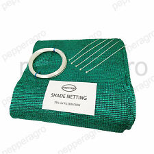 SHADE NETS GARDEN NETTING GREEN HOUSE UVSTABILIZED AGRO 75% 9 SQ METERS(3M x3M)