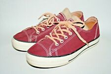 Converse All Star Chuck Taylor Woman's Trainers Canvas Burgundy Sneakers UK 4