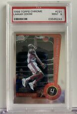LAMAR ODOM 1999 Topps Chrome #231 RC Clippers PSA 9