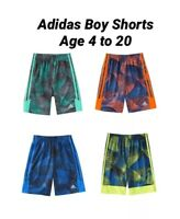🔥🔥🔥NEW Adidas Toddler and Big Boys 4T to XL Adidas Climalite Training Shorts