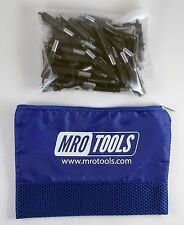 50 5/32 Cleco Sheet Metal Fasteners w/ Mesh Carry Bag (K2S50-5/32)
