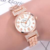 Women's Watch Crystal Diamond Bracelet Quartz Wrist Bracelet Watch Luxury Gift