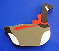 Hallmark MAGNET Christmas Vintage GOOSE DUCK Holiday Fridge