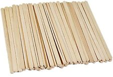 1000 x Wooden Coffee Stirrers - 7 inch High Quality Manufacture Sealed Package