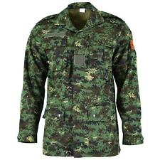 GENUINE GUINEA BISSAU ARMY JACKET RIPSTOP JUNGLE CAMOUFLAGE MILITARY ISSUE NEW