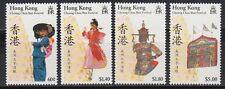 Hongkong 1989 ** Mi.559/62 Cheung-Chau-Bun-Festival | Kultur Culture
