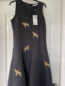 Issa Black Dress Size 12