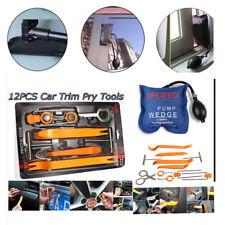12pcs Car Audio Dash Door Radio Trim Removal panel Pump wedge  RepairTools Kit