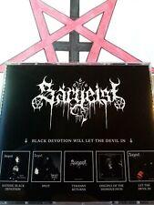 SARGEIST  (FIN)  Black Devotion will....   5 CD BOX   Black Metal CDs