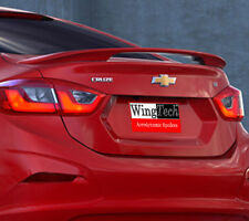 Fits: Chevrolet Cruze 2016+ 2 Post Factory Style Rear Spoiler PAINT to Match