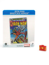 Marvel Heroclix Iron Man Briefcase Armor 3D Object S101 Chaos War LE OP w/Card
