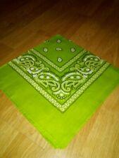 Green 100% Cotton Banda