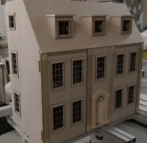 """1/12 Dolls House Eaton House 6 rooms 30"""" Kit by Dolls House Direct"""
