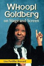 Whoopi Goldberg on Stage and Screen (2013, Paperback) SIGNED FREE S/H