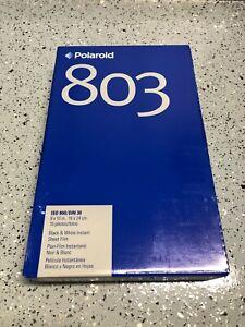 Polaroid 803 8X10 B/W Large Format Instant Film 15 Photos - NEW / SEALED
