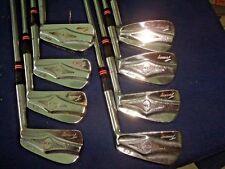 """Vintage Macgregor Tourney DX2 Golf Iron Set 2-9 Steel """"ALL ORIGINAL""""   """"NICE"""""""