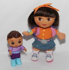 Dora the Explorer and Brother Dolls