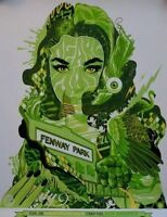 Pearl Jam Poster Fenway Park Boston, MA 2016 Tristan Eaton