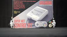Nintendo Super NES Control Set Console with Original Box PAL - 'The Masked Man'