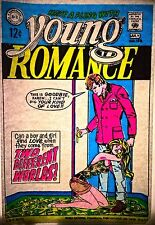 Vintage 70s Young Romance Iron-On Transfer Day-Glo Comic Book Lovers RARE!