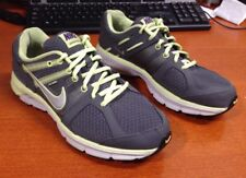 NIKE ANODYNE DS FLYWIRE RUNNING Sneakers Gray/Yellow Size 9