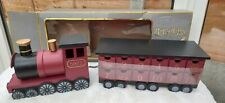 Harry Potter-Holz Hogwarts Express Zug-Advent Calender 24 TAGE-TOP Con