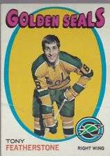 1971-72 TOPPS HOCKEY TONY FEATHERSTONE #106 GOLDEN SEALS VGEX *56982