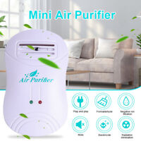 Mini Portable Air Purifier Home Negative Ion Generator Smoke Dust Purification