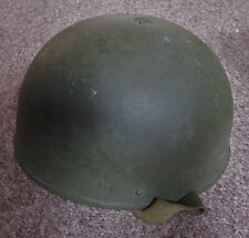 More details for 1955 dated british army tank crew/ dispatch rider helmet and liner