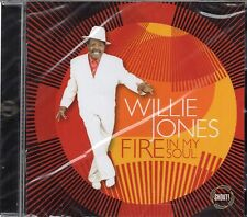 Willie Jones (The Royal Jokers) - Fire In My Soul (2014 CD) Classic R&B/Soul