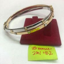 GoldNMore: 18K Gold Bangle Two in One EPTG