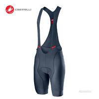 NEW 2020 Castelli COMPETIZIONE Cycling Bib Shorts : DARK STEEL BLUE