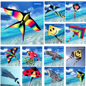 Delta Rainbow Kite Swallow Eagle  Whale Octopus Snake Line Included OKITE